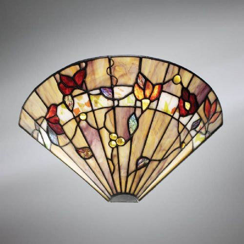 Bernwood Wall Light (Nature, Traditional, Wall Lamp) TG62W (Tiffany style)